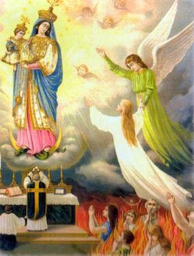 Priere Pour Les Ames Du Purgatoire : priere, purgatoire, Prière, Sainte, Vierge, âmes, Purgatoire, Etoile, Notre