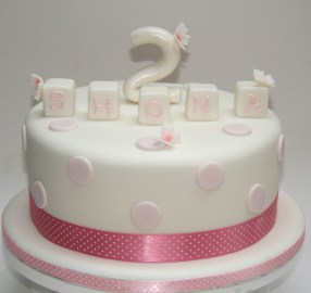 Number 2 Cake