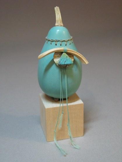 Turquoise vessel