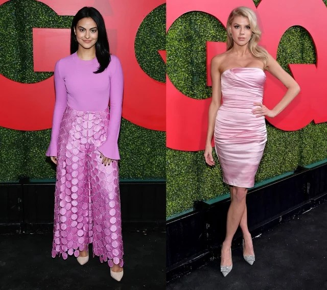 Camila Mendes and Charlotte McKinney at GQ Men of the Year party