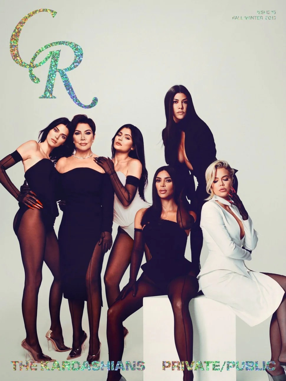 Her All That : Jenner, Poses, Daughters, Joint, Cover:, Family, Hard', Entertainment, Tonight