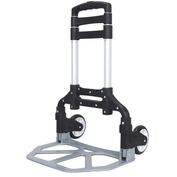 Portable Folding Collapsible Aluminum Cart Dolly Hand Push Truck Trolley