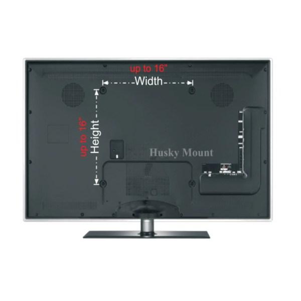 Full Motion Tv Wall Mount Swivel Bracket 32 40 47 50 Led Lcd Flat Screen