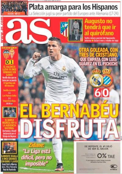 صحف مدريد الاثنين 1-2-2016