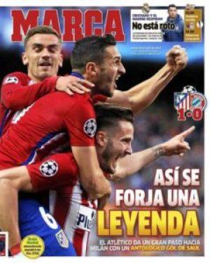 صحف مدريد الخميس 28-4-2016 ماركا
