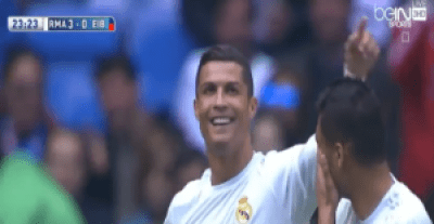 اهداف مباراة ريال مدريد ايبار 4-0 فى الدورى الاسبانى