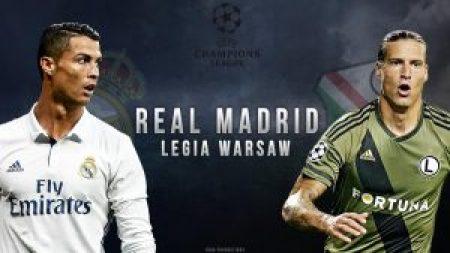 مشاهدة مباراة ليجيا وارسو وريال مدريد بث مباشر بتاريخ 02-11-2016 دوري أبطال أوروبا