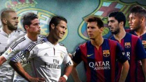 من يفوز فى الكلاسيكو القادم ريال مدريد ام برشلونة ؟