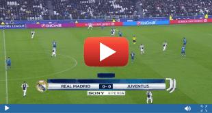 مشاهدة مباراة ريال مدريد ويوفنتوس بث مباشر بتاريخ 11-04-2018 دوري أبطال أوروبا