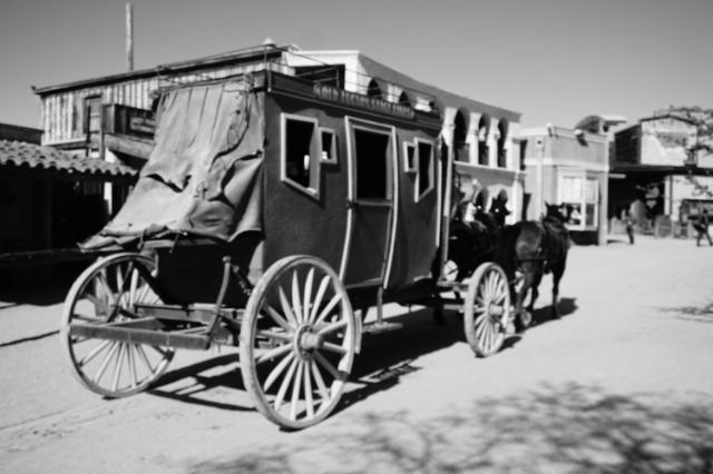Les anciens studios de cinéma de Old Tucson