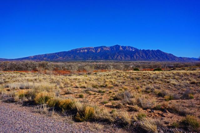 Un paysage du Nouveau Mexique