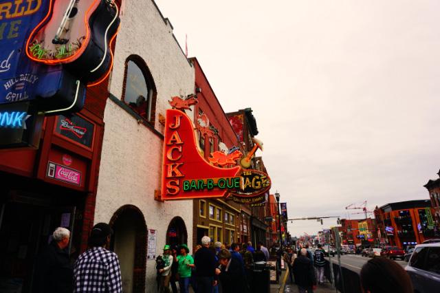 Une enseigne de Broadway, Nashville