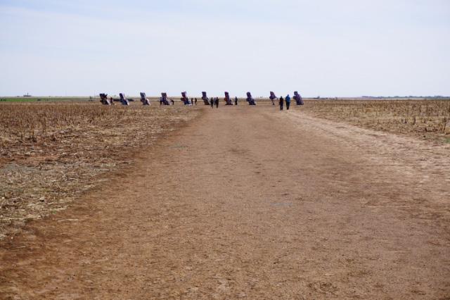 Le Cadillac Ranch à Amarillo