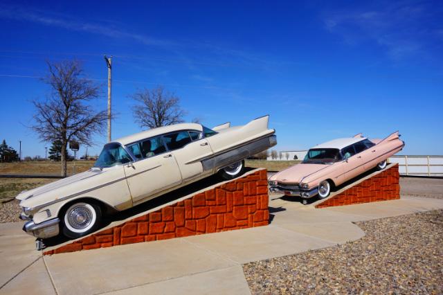 Quelques vieilles Cadillac