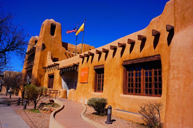 Le musée des Arts du Nouveau-Mexique, Santa Fe