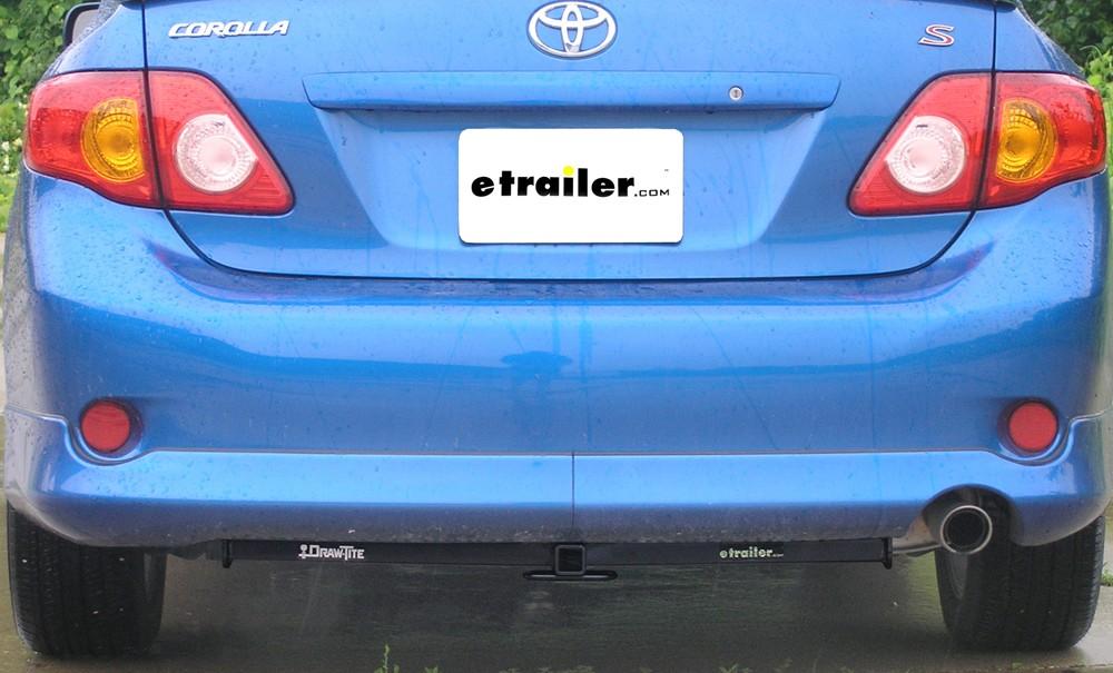 Draw-Tite Trailer Hitch For Toyota Corolla 2007