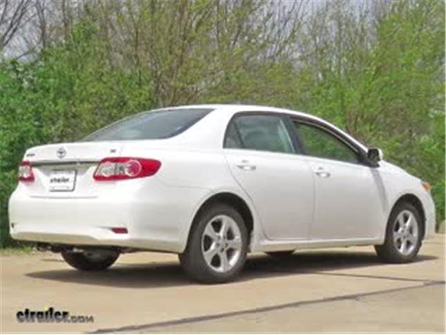 2013 Toyota Corolla Draw-Tite Sportframe Trailer Hitch