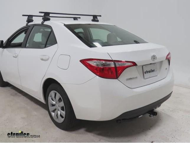 2014 Toyota Corolla Trailer Hitch