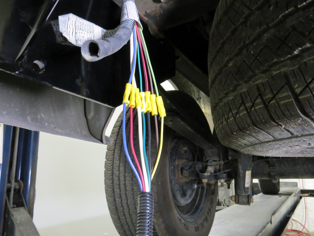 4' Pigtail Wiring Harness For Pollak Replacement 7-Pole RV