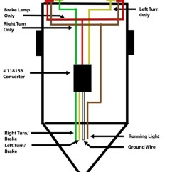 Narva 7 Pin Round Trailer Plug Wiring Diagram 2000 Chevy S10 Tail Light How To Wire Up A With Separate Taillights 4-way | Etrailer.com