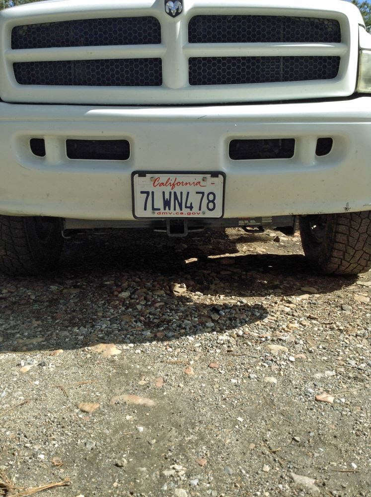 2001 Dodge Ram 2500 Front Bumper : dodge, front, bumper, 31604, Front, Hitch, 2-Inch, Receiver, Select, Dodge