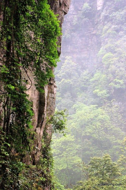 Avatar scenery in ZhangJiaJie