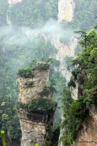 Unbelievable view from ZhangJiaJie