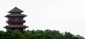 Pagoda in ZhangJiaJie mountains