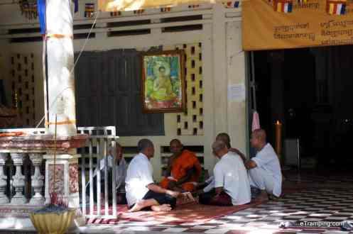 Buddhist monks, Siem Reap, Cambodia