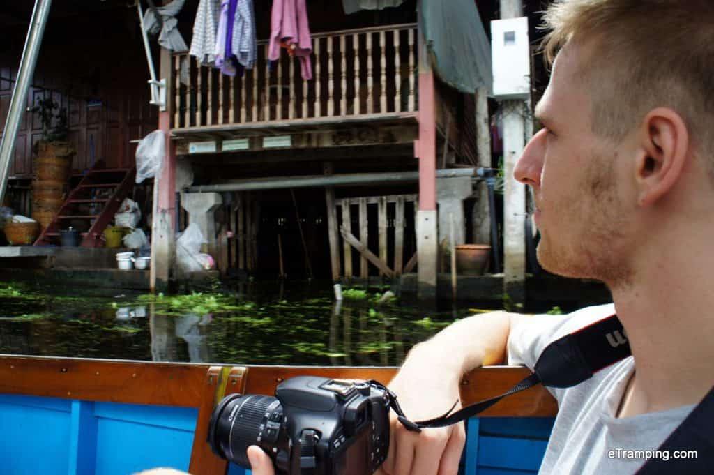 Floating Village in Bangkok