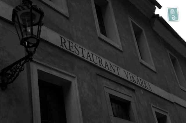 Cozy restaurant in Prague