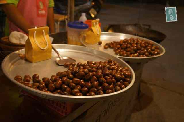 Fried chestnuts