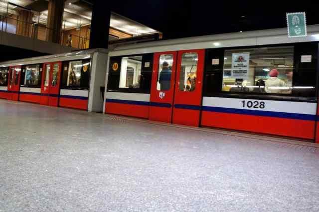 Metro in Warsaw
