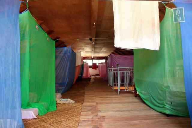 Garden Village, Siem Reap, Cambodia. $2 dorm (shared with over 25 people