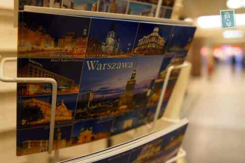 Postcard from Warsaw