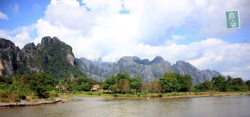 Scenery of Vang Vieng