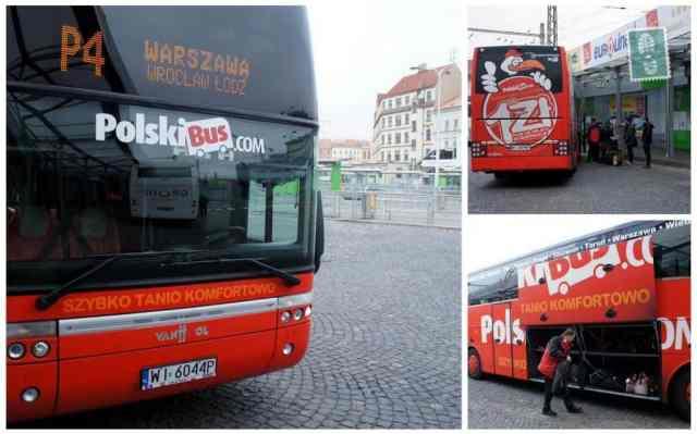 Polski Bus, red bus