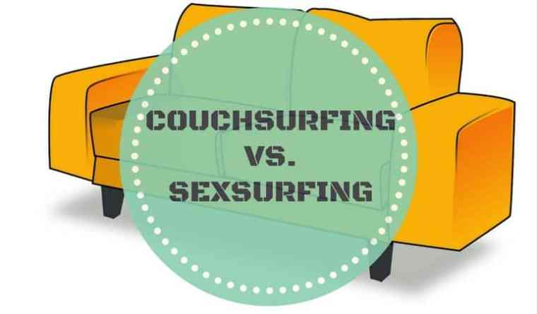 Couchsurfing vs. Sexsurfing