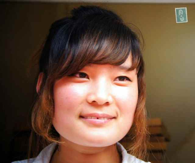 Friendly and kind Chinese girl
