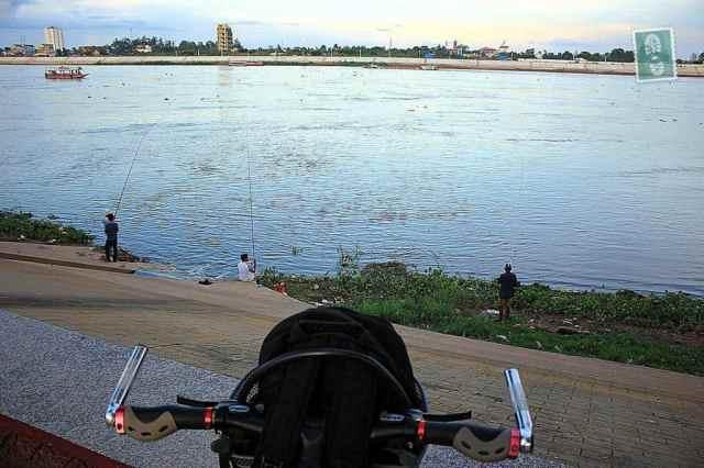 A bike in Phnom Penh
