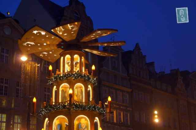 Hall Town in Wroclaw, Christmas