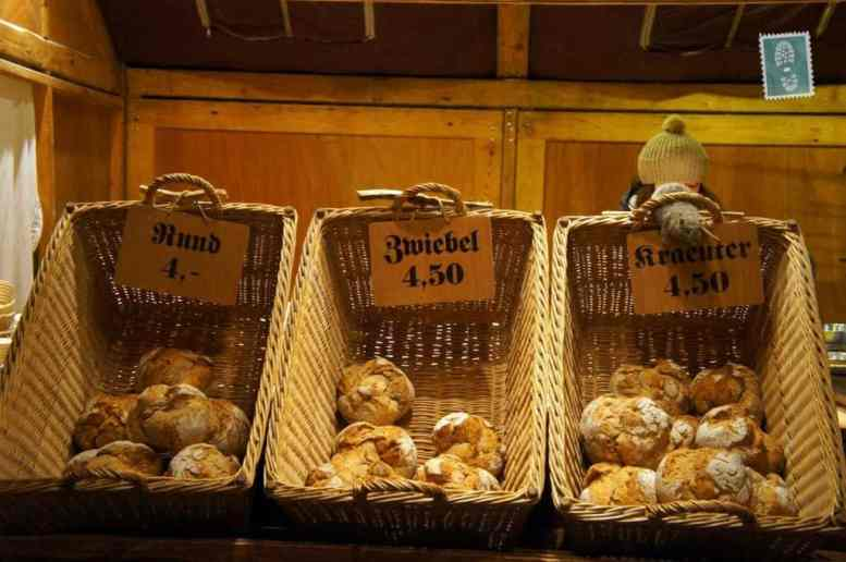 German breakfast rolls