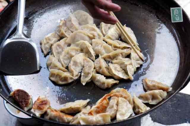 Fried Jiaozi