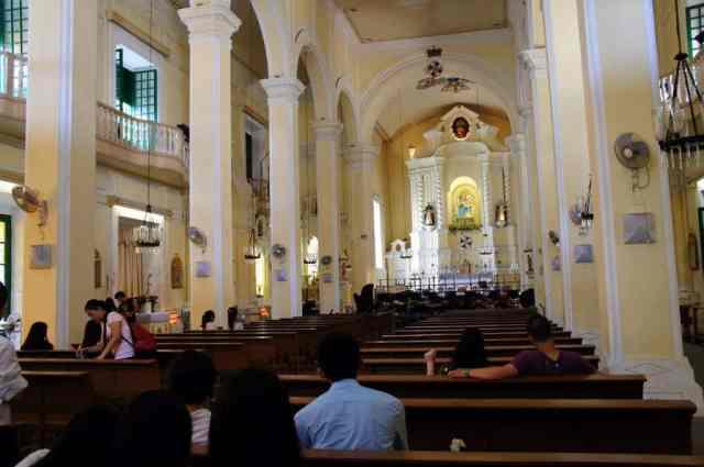 St. Augustin Church in Macau