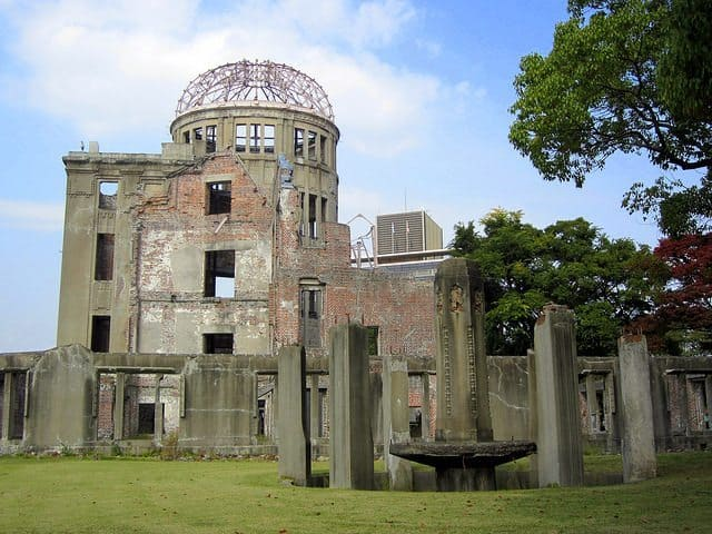 The famous A-Bomb Dome