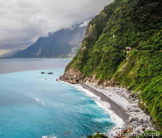 Scenic east coastline