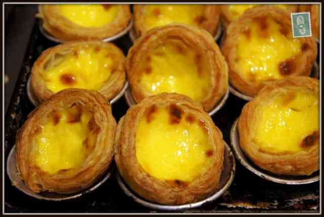 Pastéis de nata Egg tarts