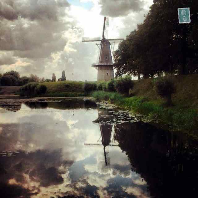 Windmill in Woudrichem