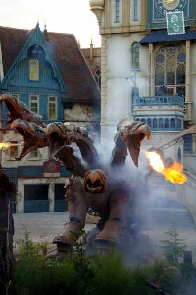 The final performance in Efteling
