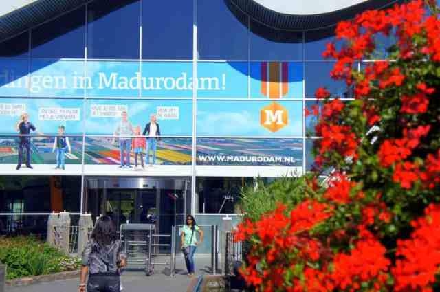 The entrance to Madurodam, Holland